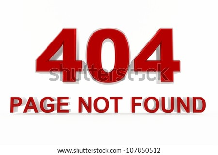 404 page not found web icon - stock photo