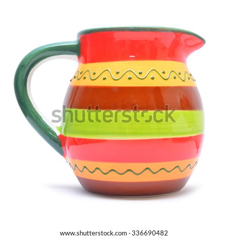 pitcher  - stock photo