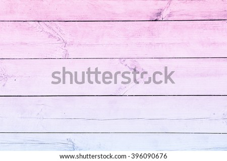plank ombre  pale pink wood textured pattern hardwood - stock photo