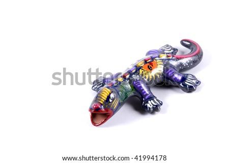 Porcelain Gecko - stock photo
