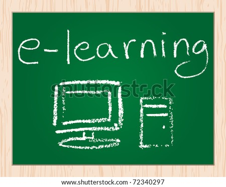 (raster image) e-learning