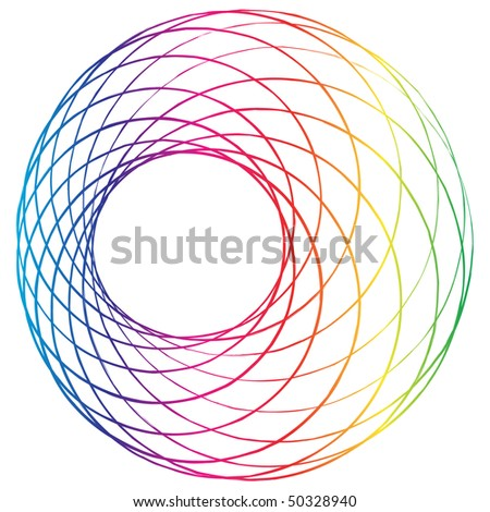 (raster image of vector) abstract design - stock photo