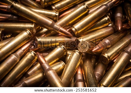.223 Rem xm193 military ball ammunition