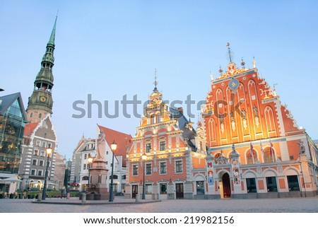Riga, Latvia - stock photo