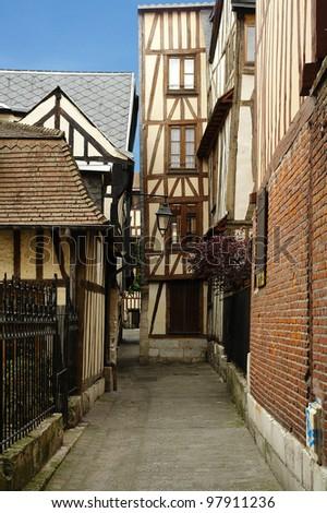 Rouen - stock photo
