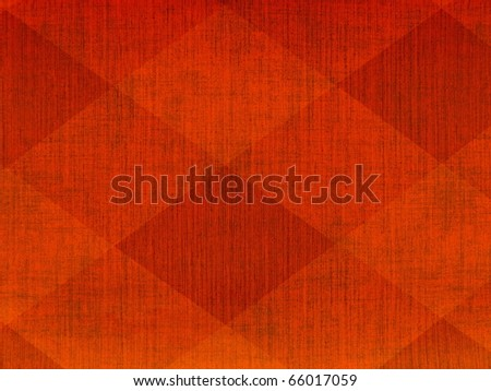 80s style psychedelic geometric scratched neon red texture close up. More of this motif & more decors in my port. - stock photo