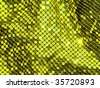 80s style sequined textile closeup. More of this motif & more textiles in my port. - stock photo