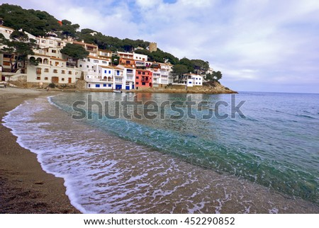 Sa Tuna Beach in Begur, Costa Brava, Girona province, Catalonia, Spain