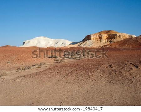 Salt & Pepper,  South Australia - stock photo