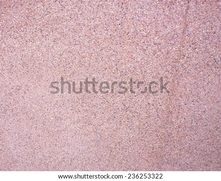 sand the surface of a rough surface with coarse sand to prevent slipping, slipping a beautiful eye-catching. - stock photo