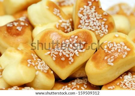 savory pastries  - stock photo