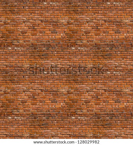 seamless brick textures - stock photo