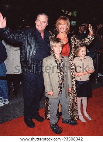 "24SEP99: Actor STACY KEACH & family at the opening of Cirque du Soleil's new show ""Dralion"" in Santa Monica, CA.  Paul Smith / Featureflash - stock photo"