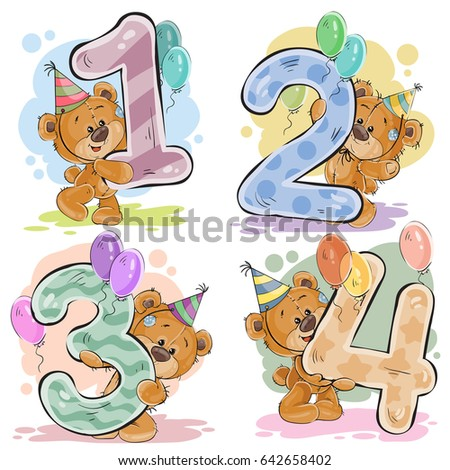 Child Birthday Images RoyaltyFree Images Vectors – Birthday Card for Child