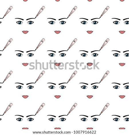 Simple pattern equipment permanent makeup used stock illustration simple pattern of equipment for permanent make up used for backgrounds on the site reheart Choice Image