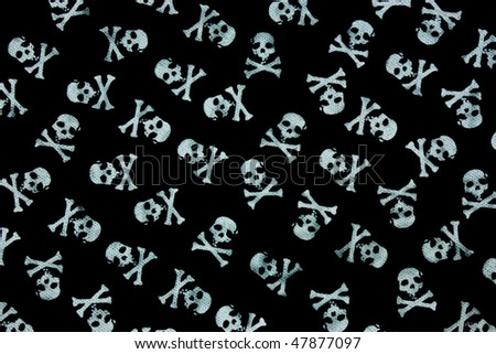 skull pattern for background