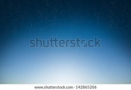 sky background early morning - stock photo