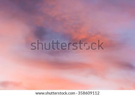 sky cloud texture background - stock photo
