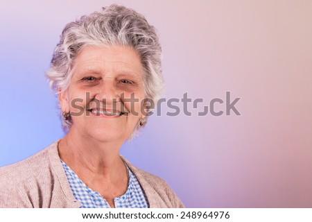 smiling - stock photo