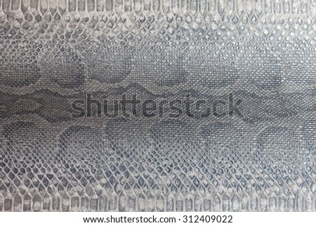Snakeskin pattern texture background - stock photo