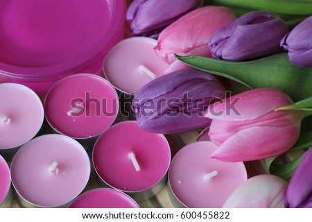 Spring flowers lovely moments romantic moments stock photo royalty spring flowers lovely moments romantic moments beautiful springs flowers pink and purple mightylinksfo