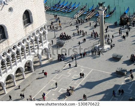 St. Mark's Square in Venice, Italy - stock photo