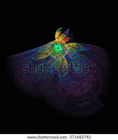 Sufi  Whirling dervish abstract illustration - stock photo