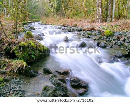 Swift Creek - stock photo