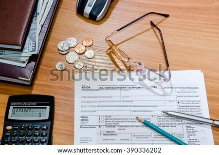 tax return 2016 paper form