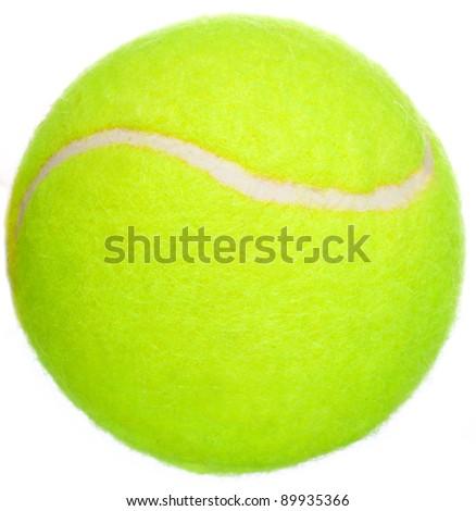 Tennis. A ball. - stock photo