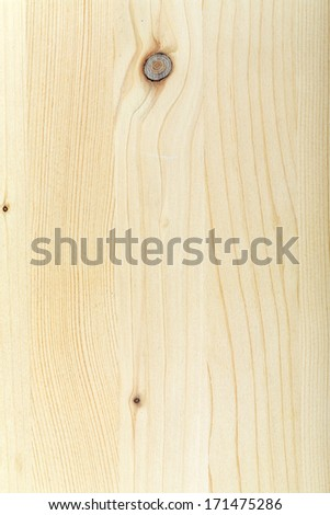 texture of natural wood, laminate pine unvarnished - stock photo