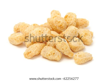 Textured Soy Protein (Soy Meat) - stock photo