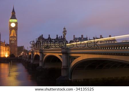 150th Anniversary of Big Ben - stock photo
