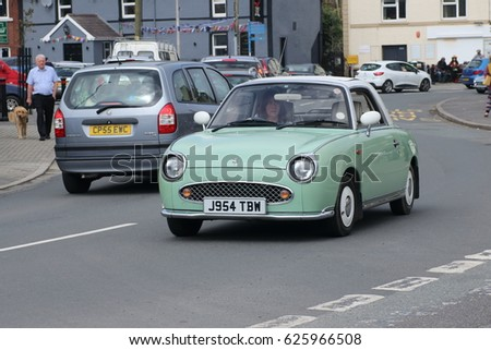 9th April 2017 Nissan Figaro On Stock Photo 625966508 Shutterstock