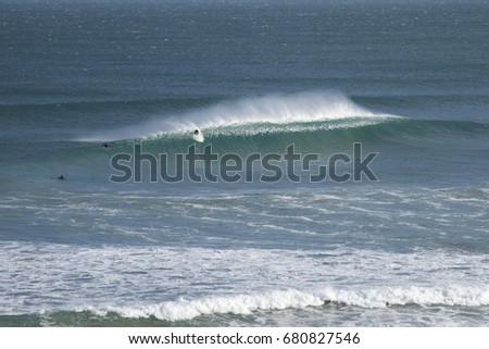 13th Beach Victoria Australia , windy offshore peak , tubes on tap ,Beacon barrels