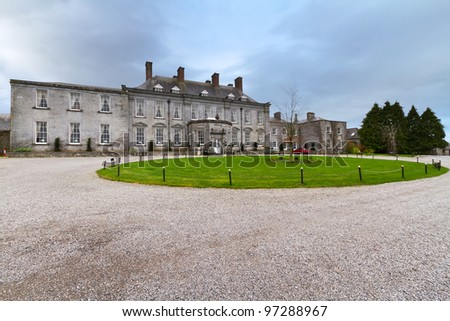 18th century Castle Durrow in County Laois, Ireland
