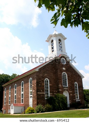 18th Century Stone Church - stock photo