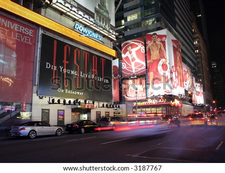 42th Times Square Manhattan New York City