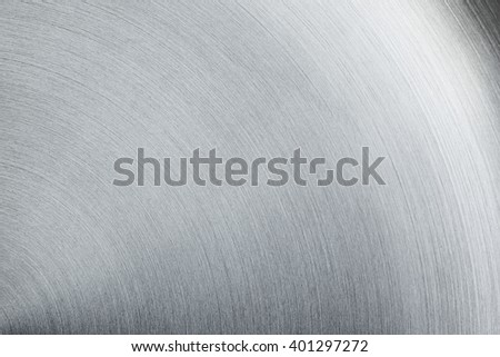 The shiny steel surface. The texture. The background. - stock photo