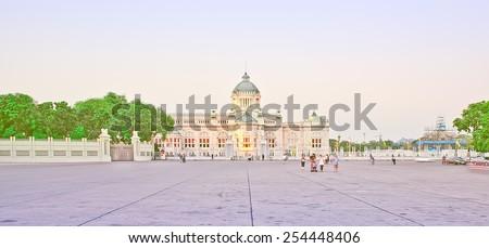 Throne Hall In Palace ,Bangkok - stock photo