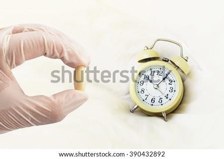 time medicine - stock photo