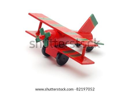 toy plane - stock photo
