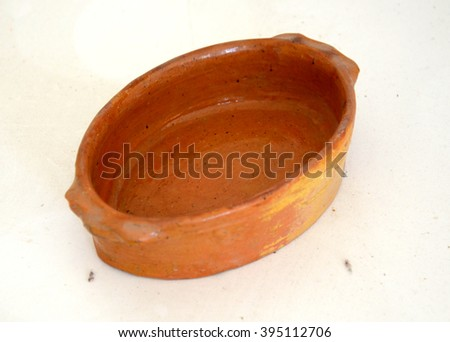 Traditional macedonian pottery. Kitchen ware.