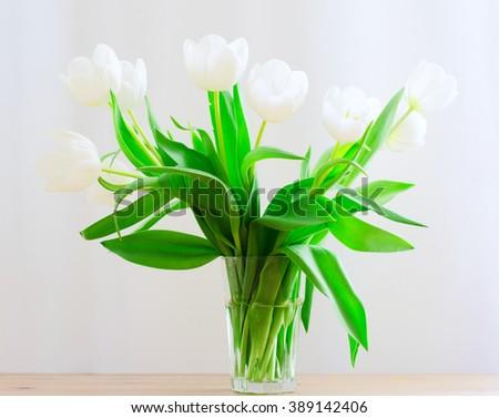 Tulip Bouquet - stock photo