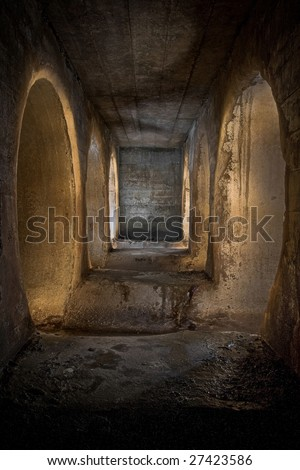 6 Tunnels - stock photo