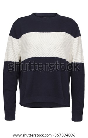 unisex sweater - stock photo