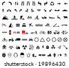 82 universal pictogram - stock vector
