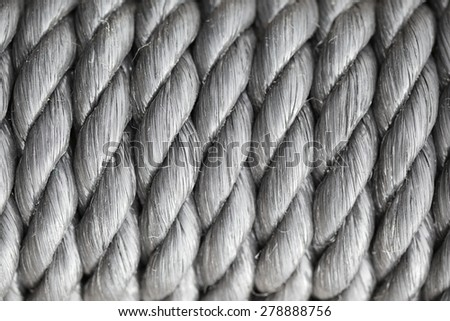 unusual abstract sea rope background  - stock photo