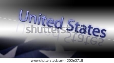 """""""US"""" - stock photo"""