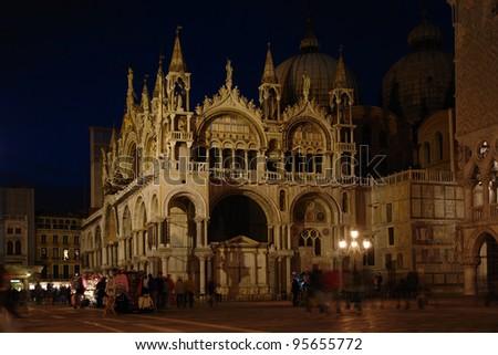 Venice          San Marco - stock photo